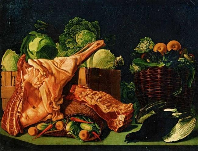 Иван Хруцкий. Мясо и овощи
